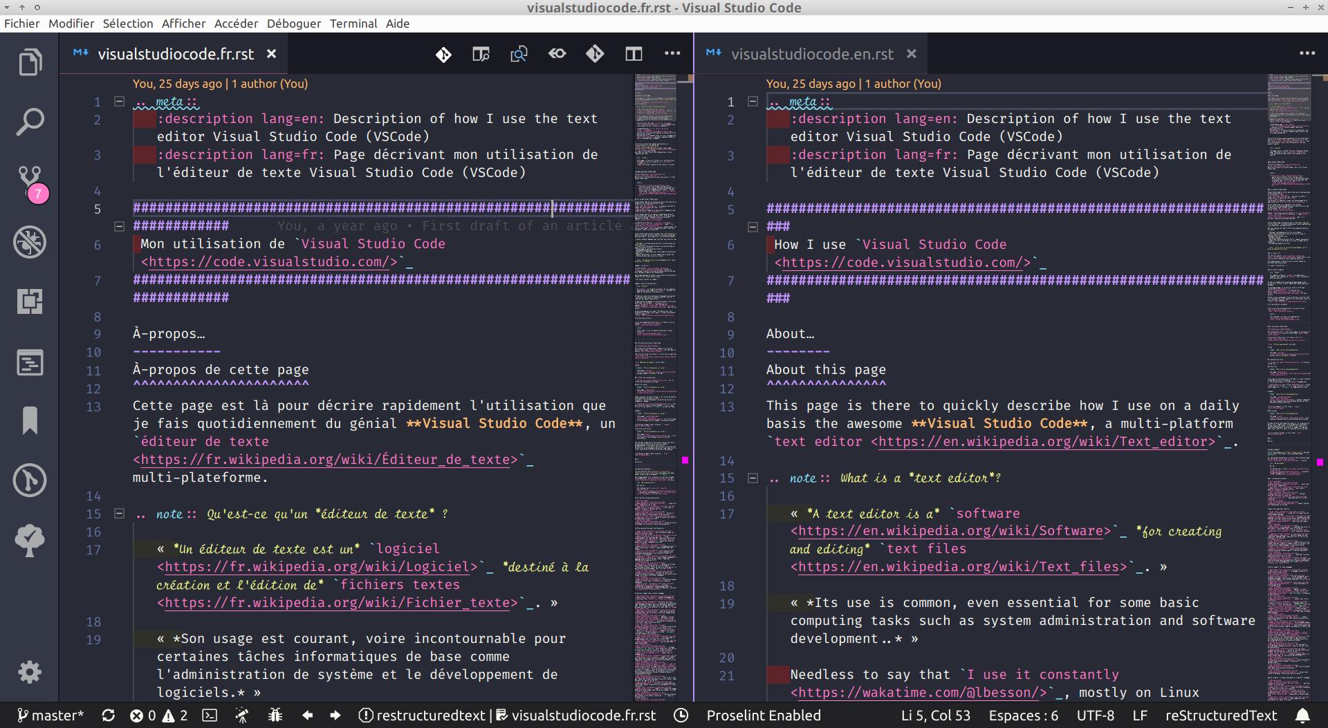 Mon Utilisation De Visual Studio Code Lilian Besson Perso Crans Org