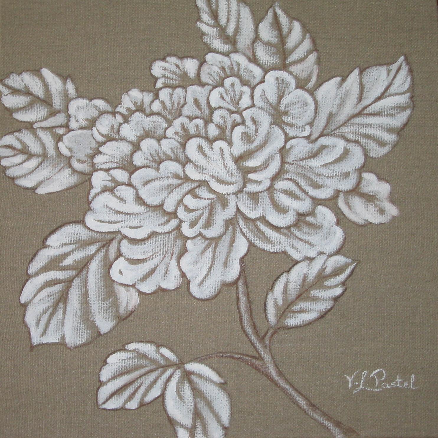 Fleur Monochrome