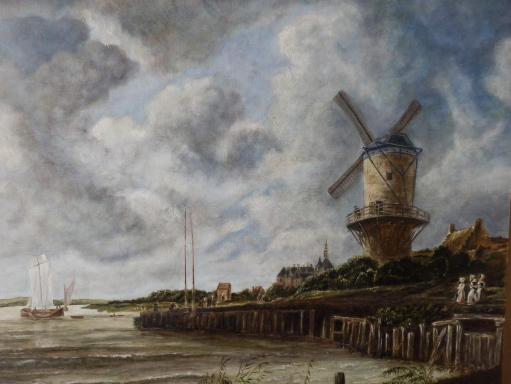 Le moulin à Wijk bij Duurstede