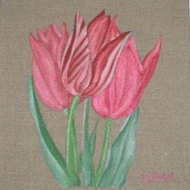 3 tulipes